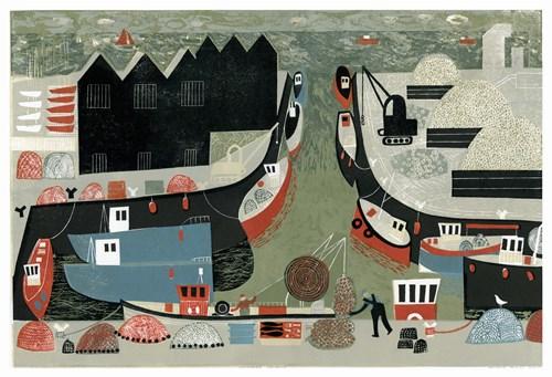 Paper   |   Scissors   |   Stone - Lot 8, Melvyn Evans, Whitstable Harbour