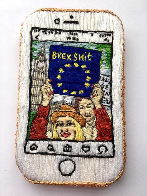 Paper   |   Scissors   |   Stone - Lot 35, Tisna Westerhof, Europe Running Through My Veins ll