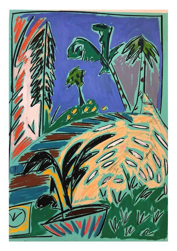 Jack Penny, Retour aux Arbres II, The Auction Collective