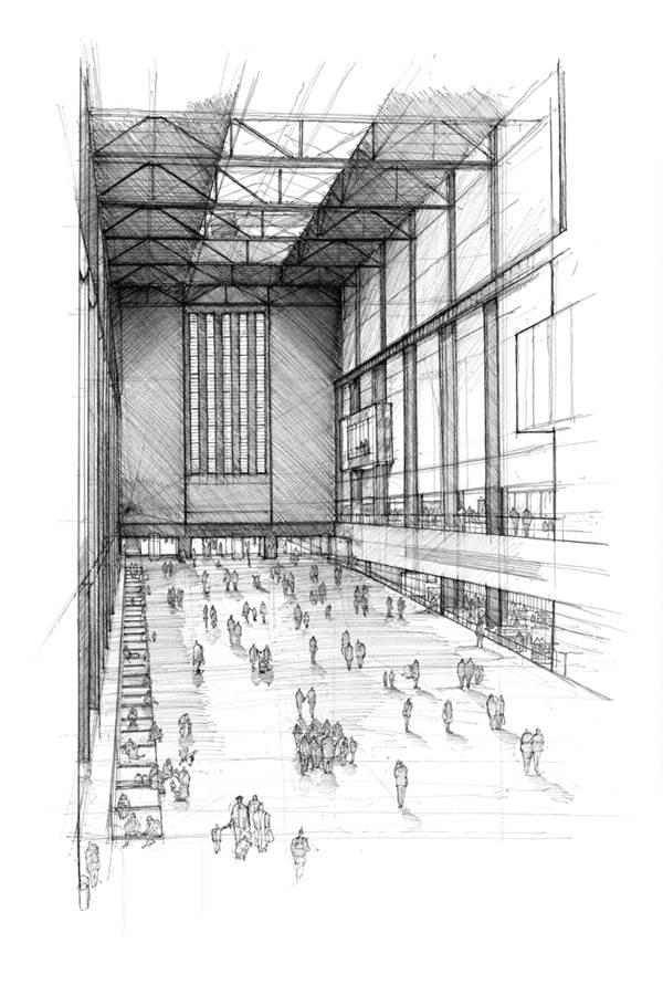 Luke Adam Hawker, Tate Modern, Turbine Hall, The Auction Collective