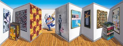 Hyper-Colour-Pop-Culture - Lot 12, Patrick Hughes, Poppish