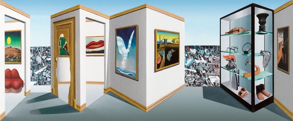 Hyper-Colour-Pop-Culture - Lot 10, Patrick Hughes, Surreal