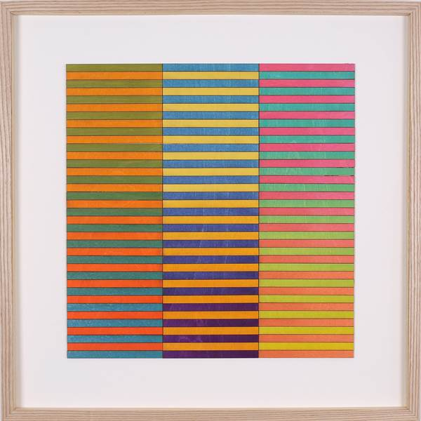 Amelia Coward, Three Panel Colour Study