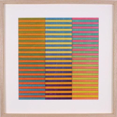Hyper-Colour-Pop-Culture - Lot 13, Amelia Coward, Three Panel Colour Study
