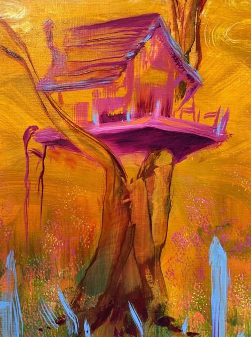 Hospital Rooms - Lot 30, Michael O'Reilly, Mustard Burn