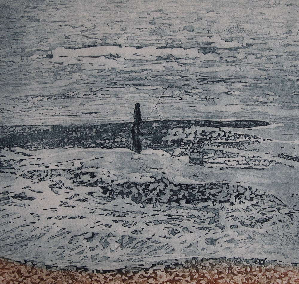 The Summer Auction 2019 - Lot 48, Nicola Troll, Fisherman