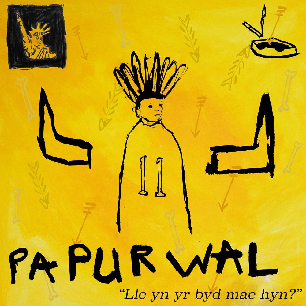 Lend Your Ears + Open Your Eyes - Lot 23, Billy Bagilhole, Papur wal 'lle yn yr byd mae hyn?'