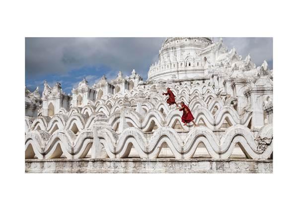 Monks Having Fun
