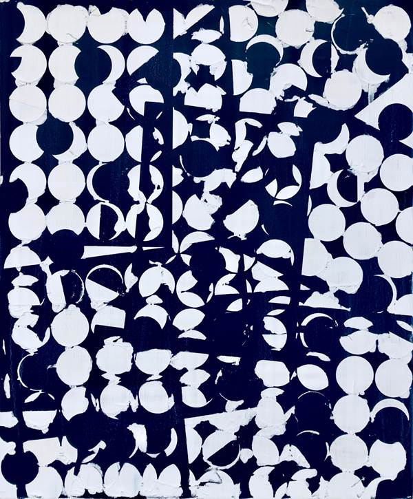 Untitled (Blue Circles)