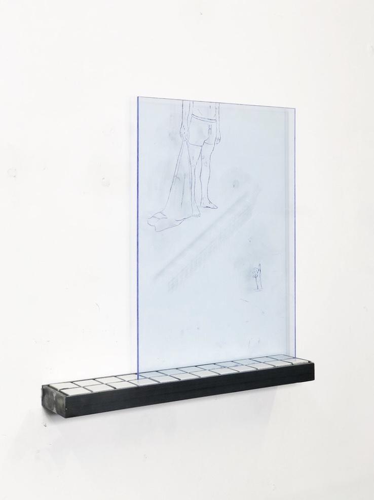 To My Twenties - Lot 6, Alexander Glass, A Fine Line