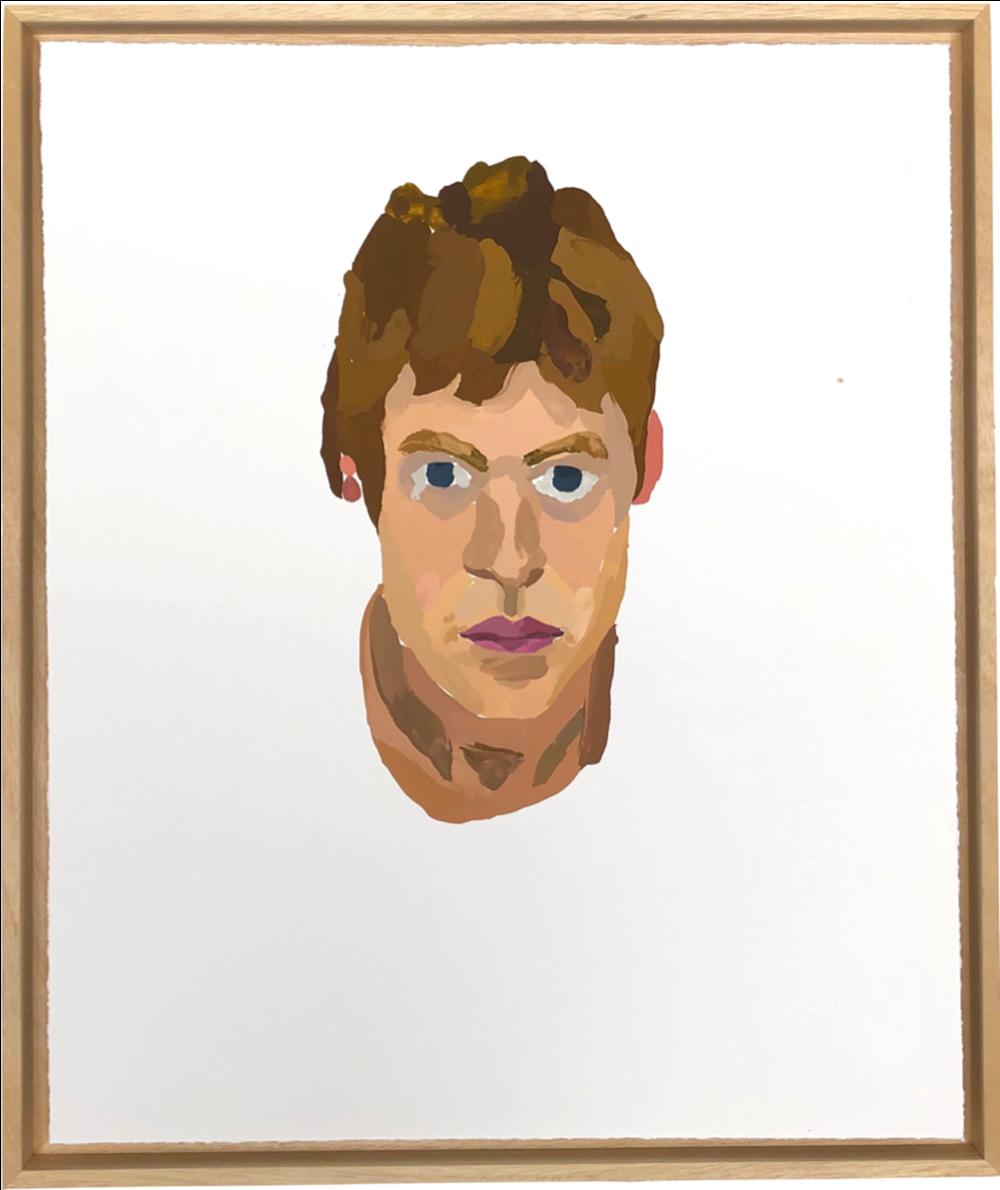To My Twenties - Lot 35, Eddie Howard, Self-Portrait (Study of my Head)