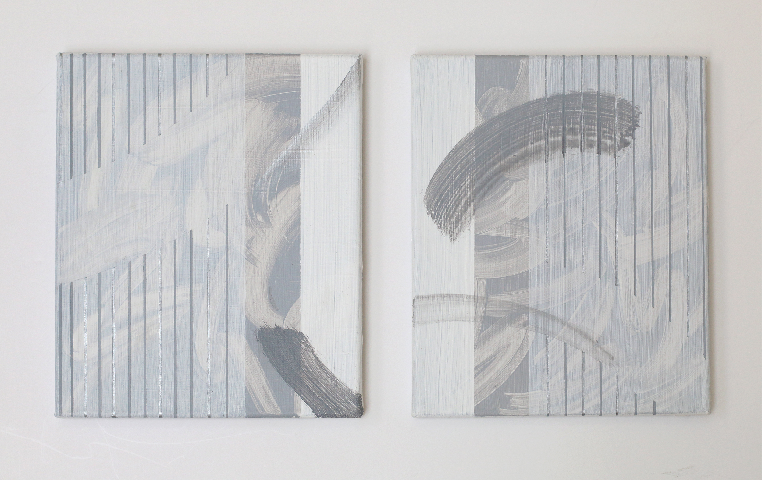 Zanny Mellor, The Auction Collective, Into Diptych