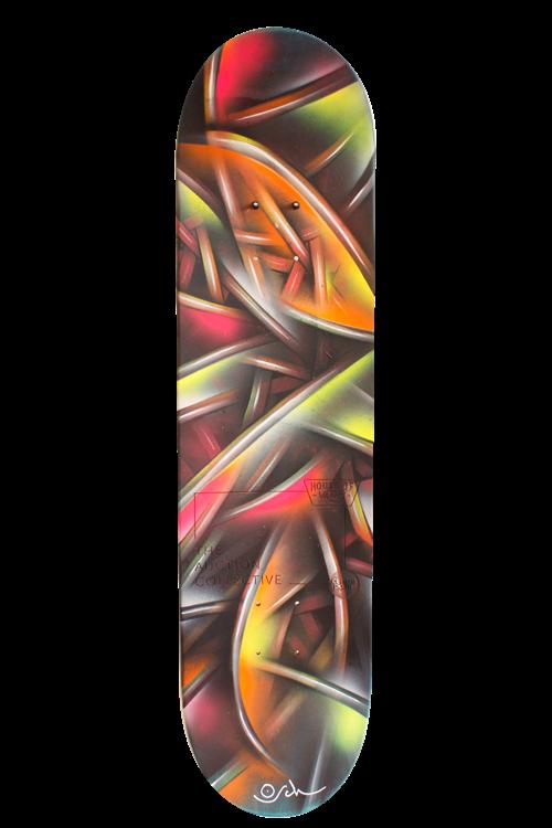 Objects of Art   The Skateboards - Lot 4, Otto Schade, Osch Board
