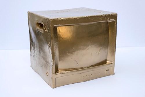 Art Fundraiser LA   Timed Auction - Lot 18, Alexis Hudgins, Gold Monitor