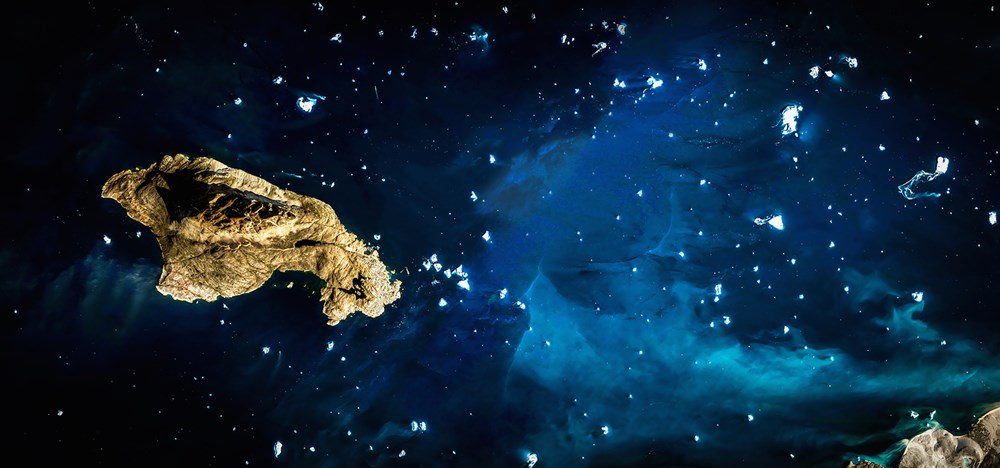 Art Fundraiser LA | Timed Auction - Lot 36, Medford DeForest, Google Space Asteroid