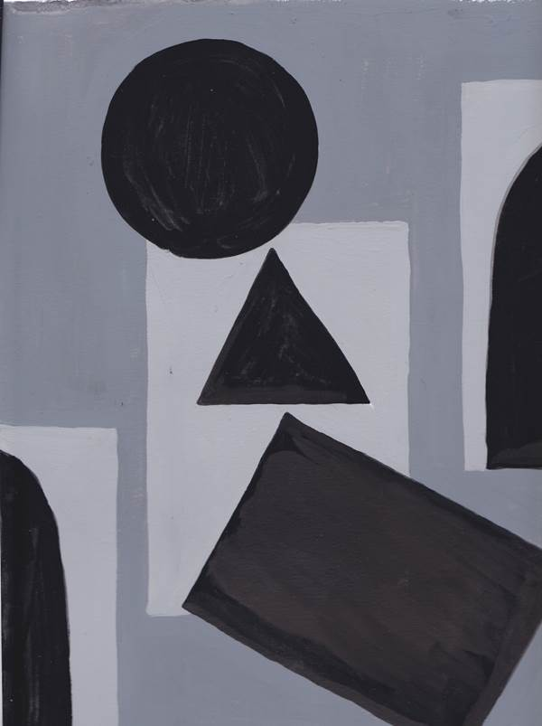 Sarah Gottesdiener, Untitled (geometric)
