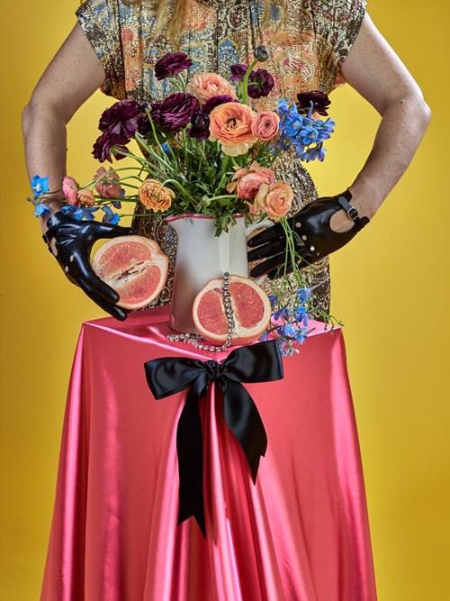 Art Fundraiser LA | Timed Auction - Lot 57, Amanda Rowan, Pink Grapefruit with Diamonds