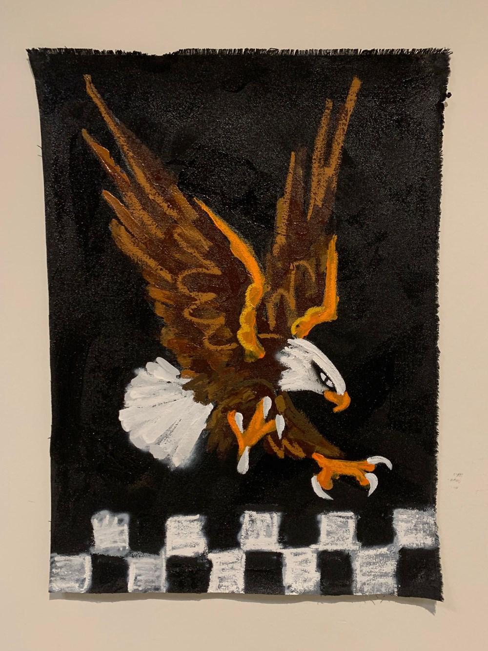 Art Fundraiser LA | Timed Auction - Lot 33, Nico Bassill, Untitled (Eagle)