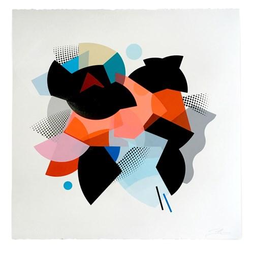 The Autumn Auction 2020 - Lot 60, Mark McClure, Pink Skirmish II