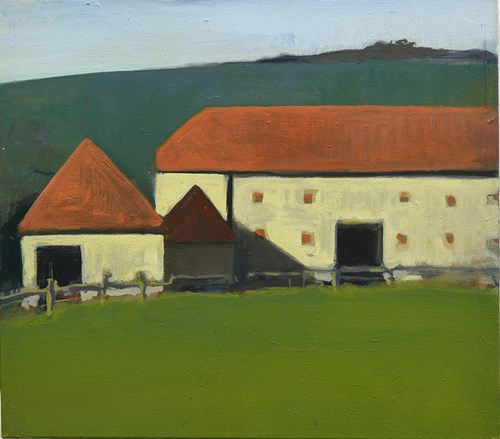 The Autumn Auction 2020 - Lot 11, Tom Farthing, Barn
