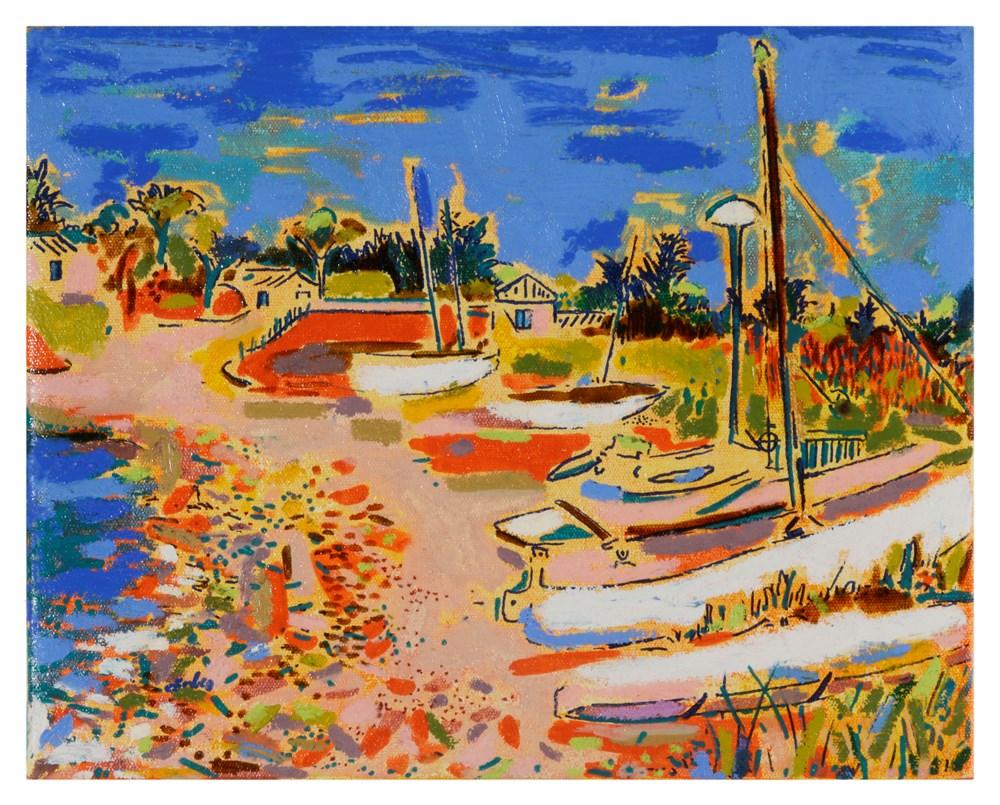 50 x £50 - Lot 11, Christabel Forbes, Les Petits Bateaux, La Luzeronde