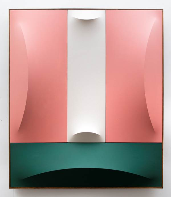 Charlie Oscar Patterson, No.3–10 Green, Pink & White