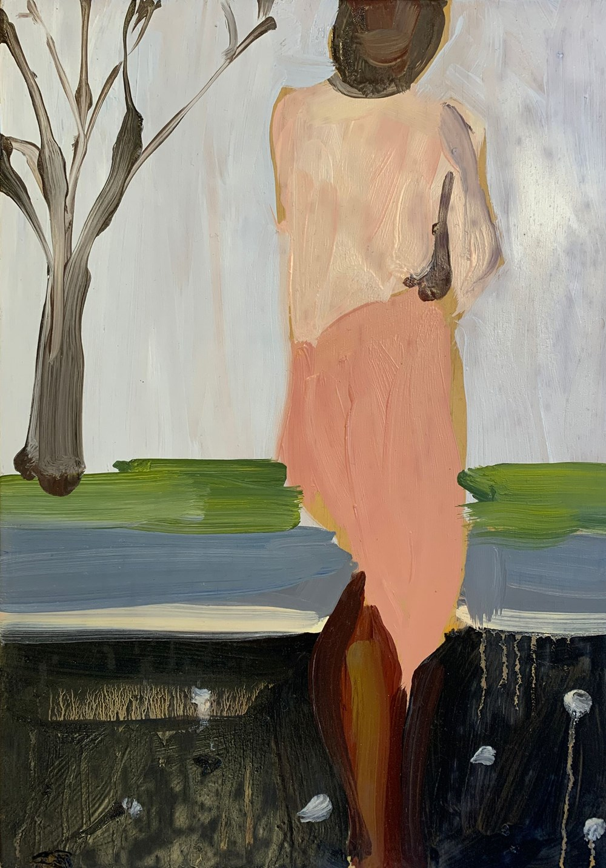 Future Dreams - Lot 13, Chantal Joffe, Moll Turned Away