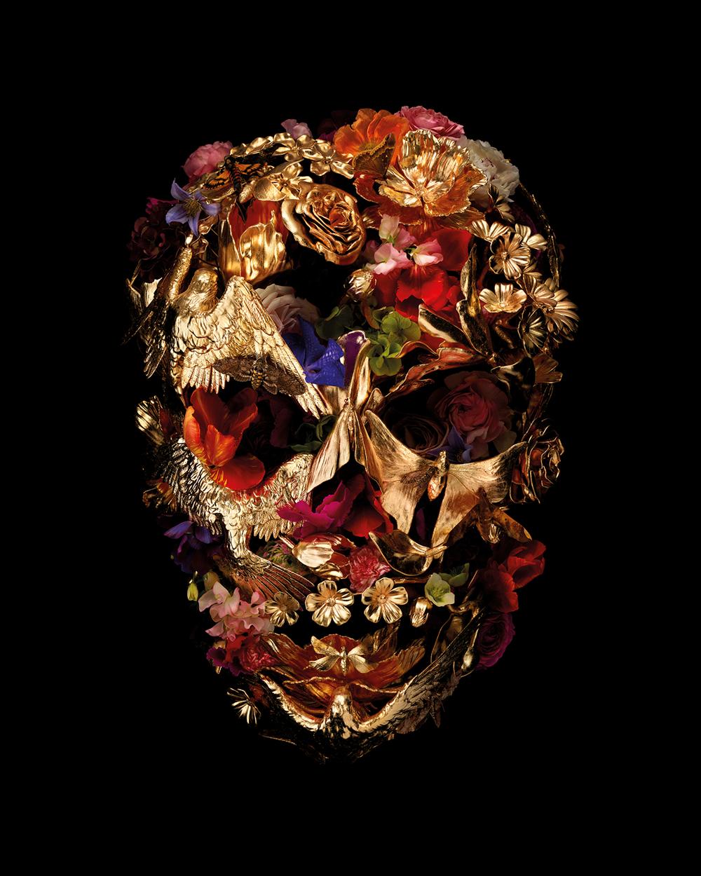 Future Dreams - Lot 16, Gary James McQueen, The Vanitas Skull