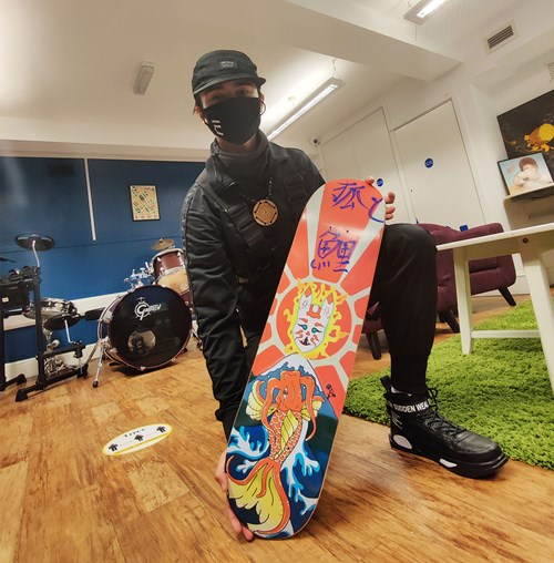 Objects of Art | The Skateboards - Lot 15, Lewis Adams, 3dom.arts