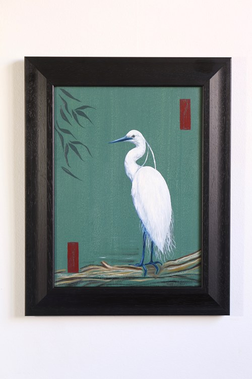 The Autumn Auction 2020 - Lot 28, Nathan Jones, The White Egret