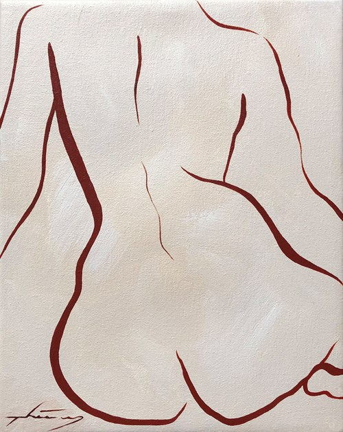 50 x £50 - Lot 43, Thierry Porter, Terracotta Nude