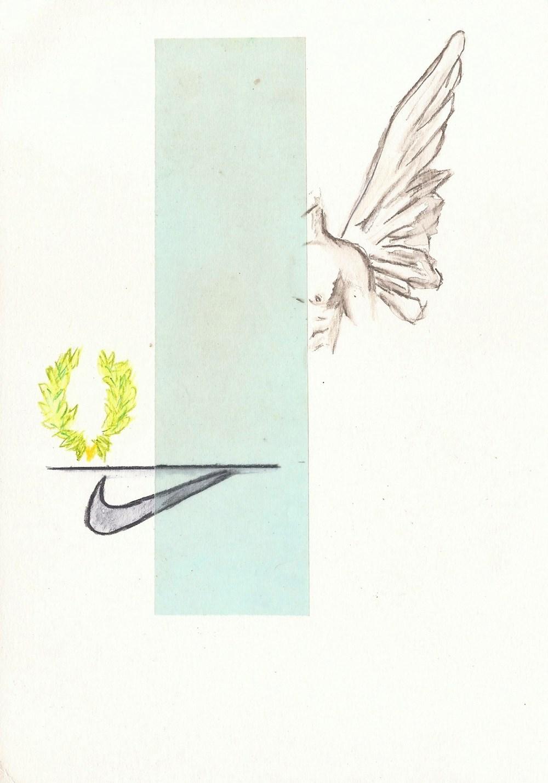Studio Sale | Alexander Glass - Lot 15, Alexander Glass, Nike
