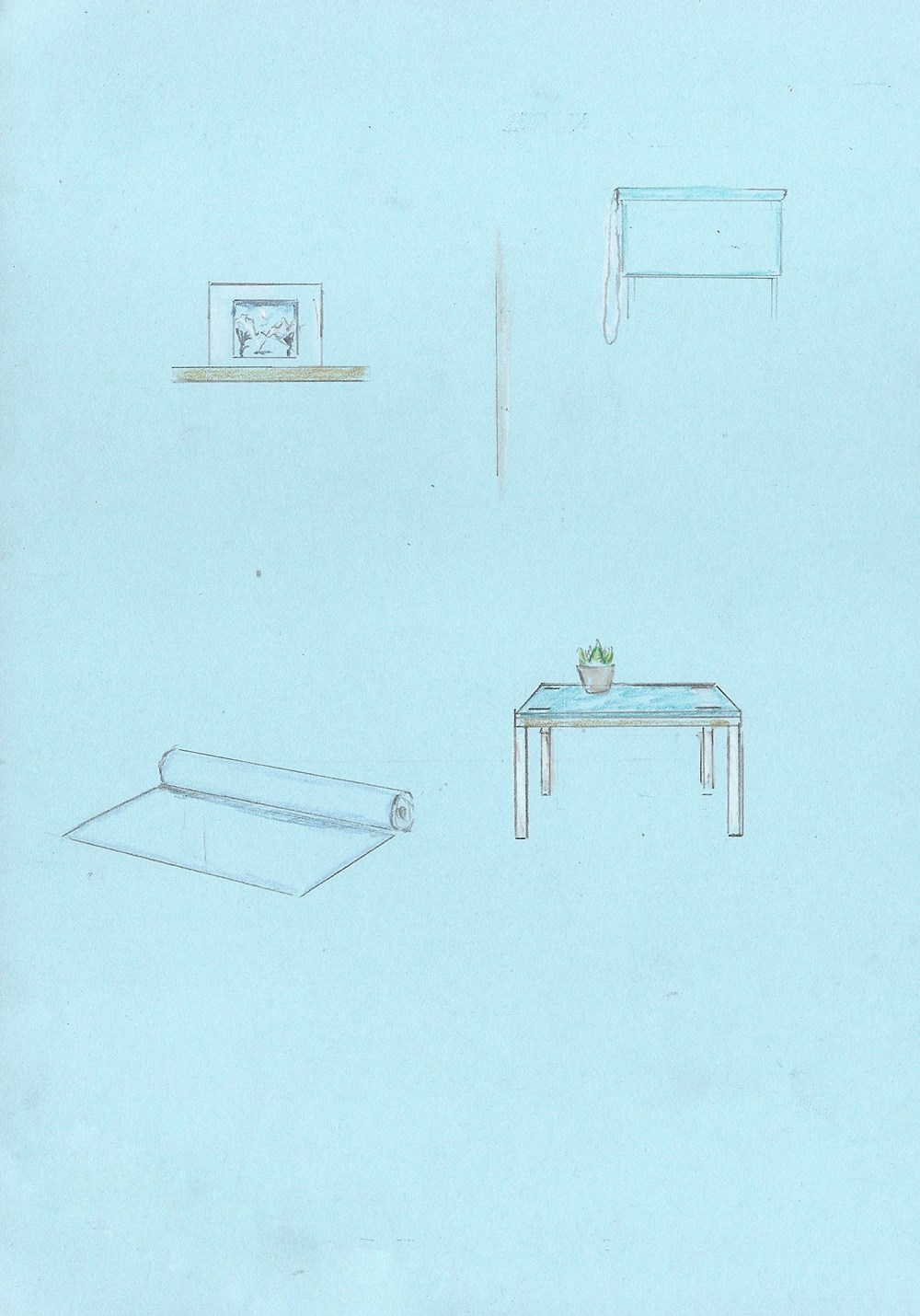 Studio Sale | Alexander Glass - Lot 19, Alexander Glass, Video Link Yoga