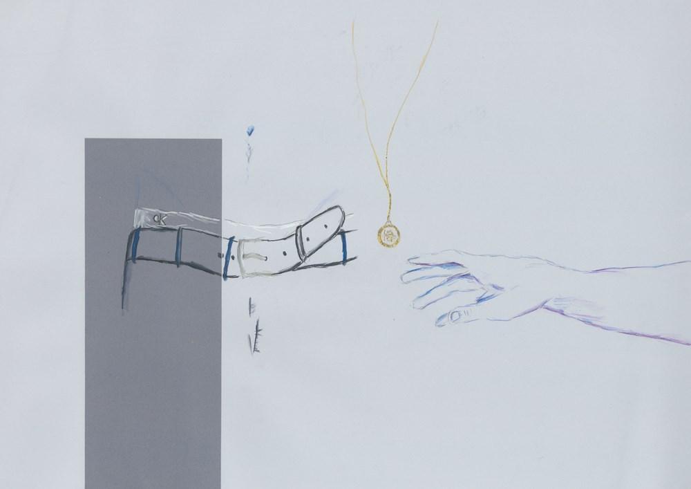 Studio Sale | Alexander Glass - Lot 25, Alexander Glass, Reaching