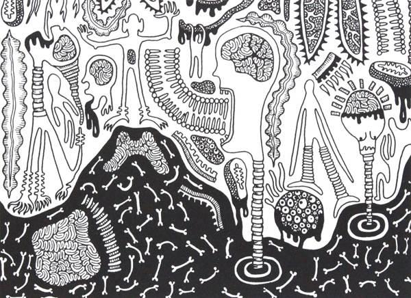 Tara Garden, Cellular Life II, The Auction Collective