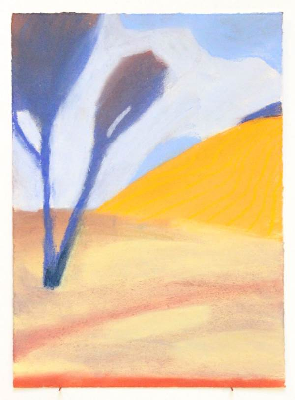 Sammi Lynch, Blue Skies, Orange Hills, The Auction Collective
