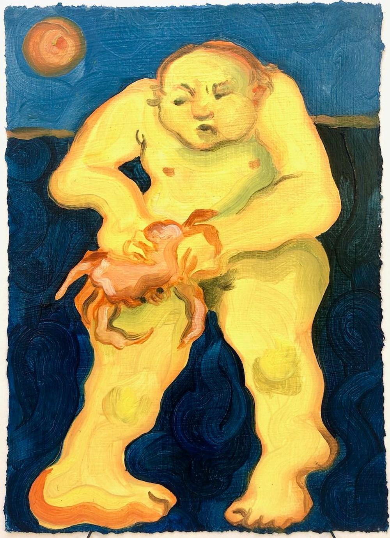 Life on Venus   The Landscape, Live Auction - Lot 15, Georg Wilson, The Tide