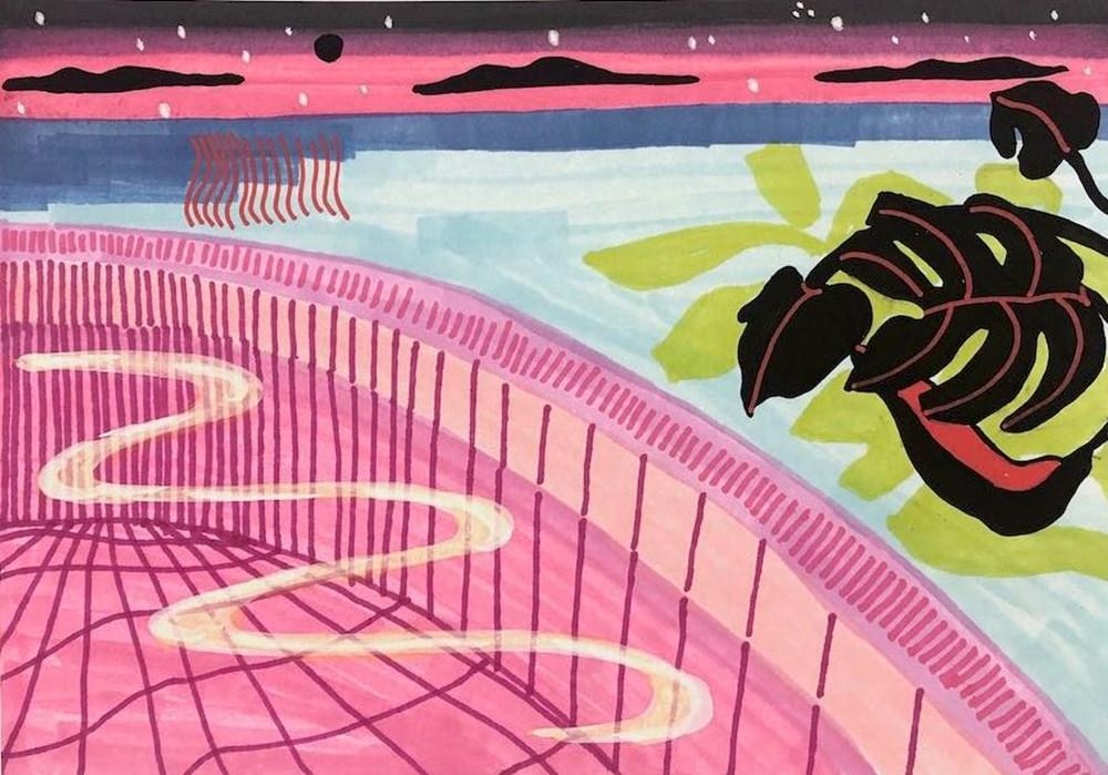 Life on Venus | The Landscape, Timed Auction - Lot 49, Lily Senner, Pink Swim