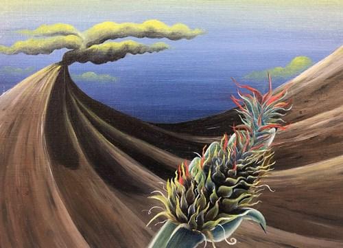 Life on Venus | The Landscape, Timed Auction - Lot 66, Nicola Organ, Erupting Deity