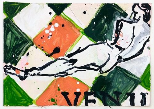 Life on Venus | The Landscape, Live Auction - Lot 24, Kim Booker, Self Portrait on Venus