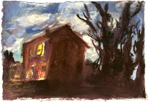 Life on Venus | The Landscape, Timed Auction - Lot 86, Elvira Rose Oddy, The House at Dusk