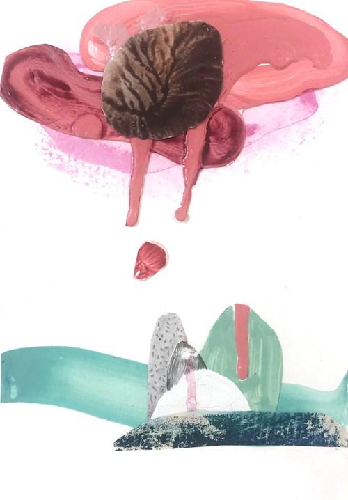 Life on Venus   The Landscape, Live Auction - Lot 1, Justine Formentelli, Gloopy Refrain