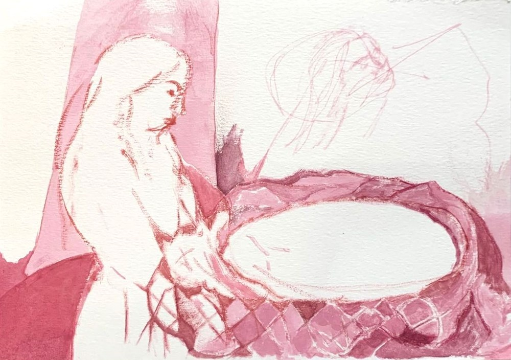 Life on Venus II | The Human, Timed Auction - Lot 5, Isgard Hague, Untitled (pink)
