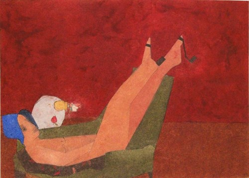Life on Venus II   The Human, Timed Auction - Lot 40, Kirsty Lackie, Blush