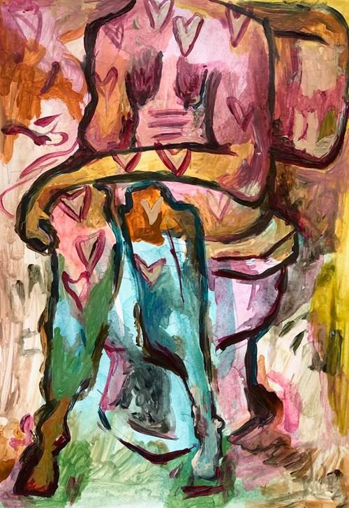 Life on Venus II | The Human, Timed Auction - Lot 72, Saffron Stott, Toilet Loo Toilet
