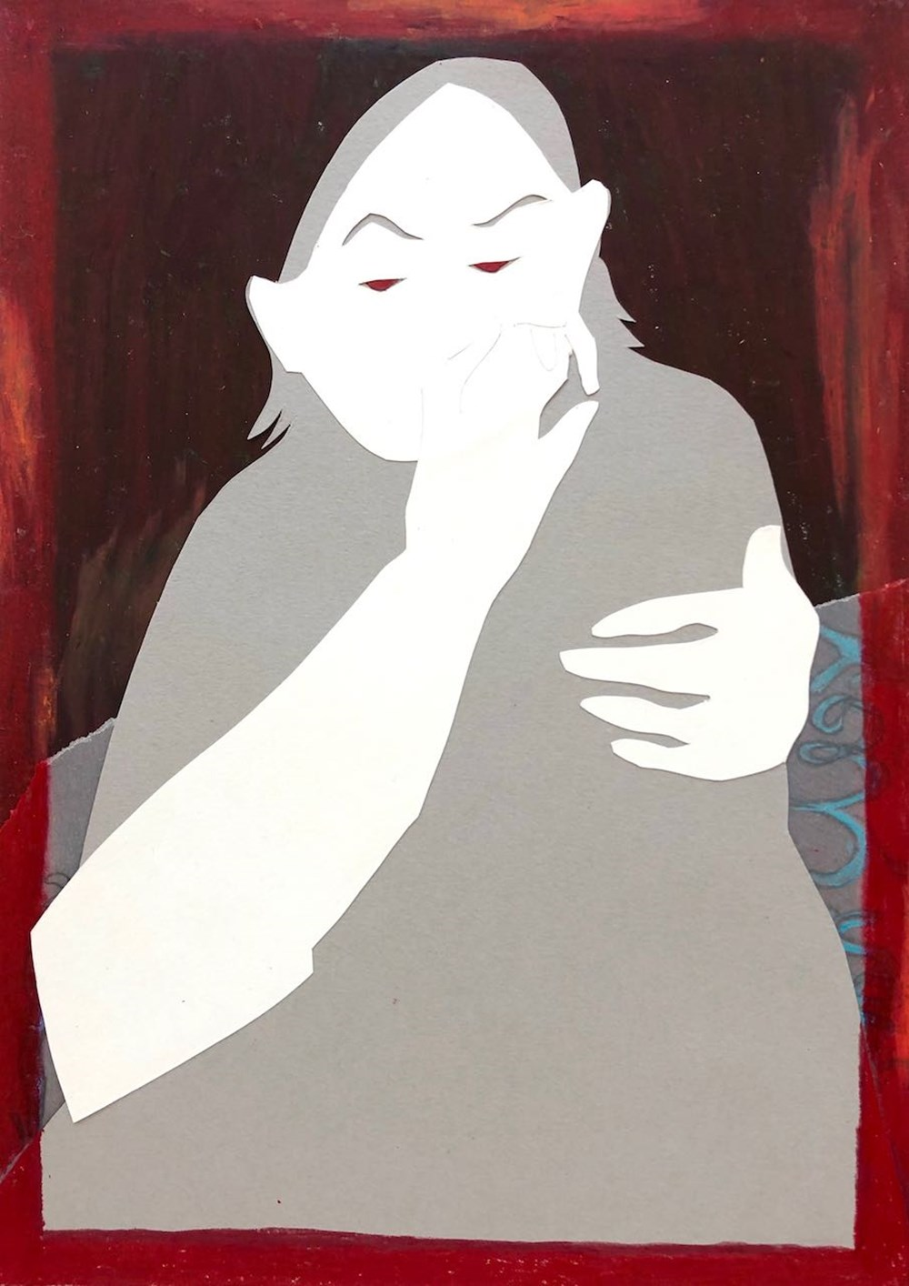 Life on Venus II   The Human, Timed Auction - Lot 73, Lily Jenkins, In the Red