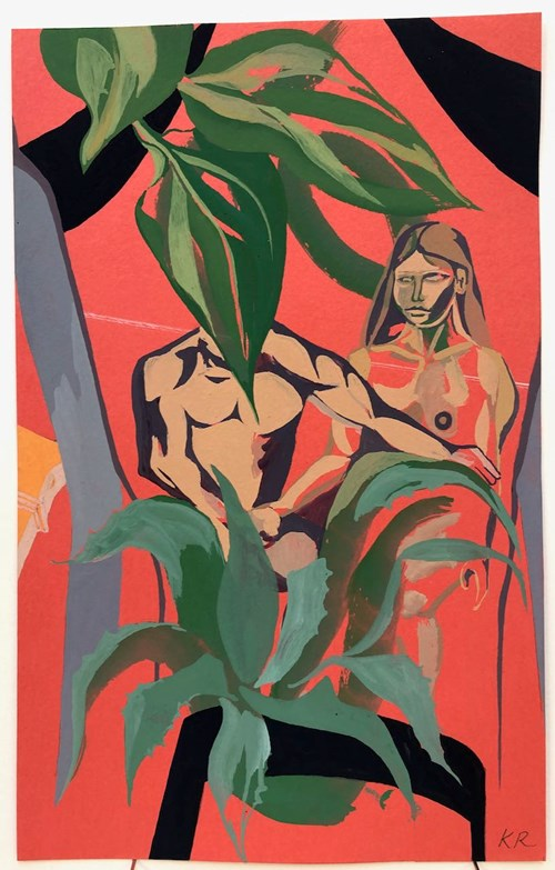 Life on Venus II | The Human, Timed Auction - Lot 99, Kitty Rice, La Malinche & Cortés