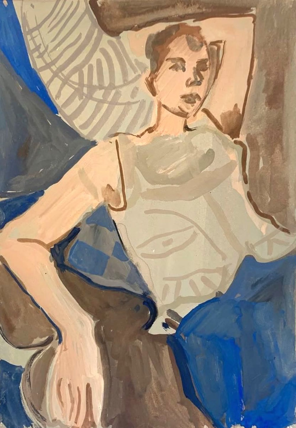 Life on Venus II | The Human, Live Auction - Lot 2, Ella Squirrell, Reclining