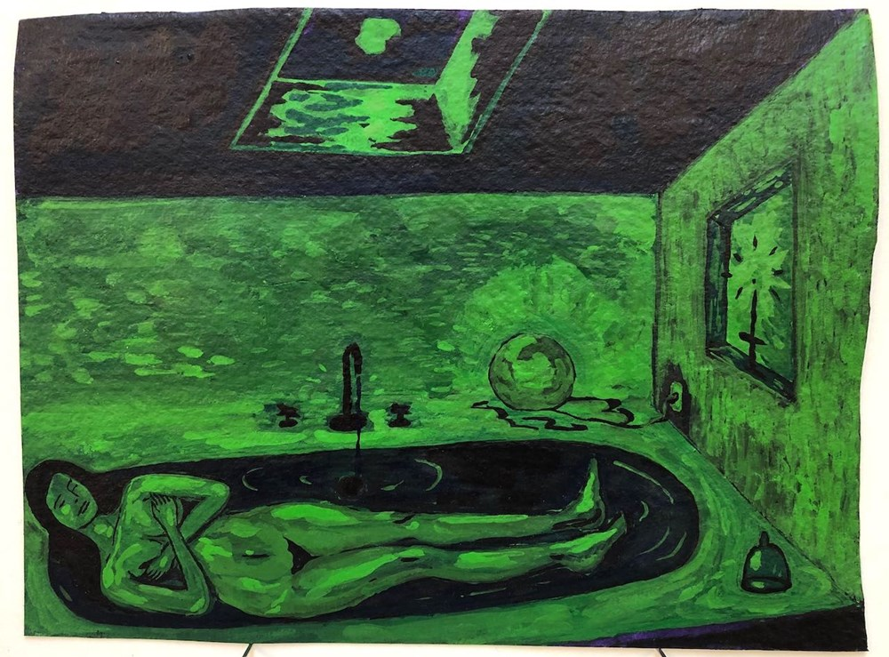 Life on Venus II | The Human, Live Auction - Lot 17, Augusta Lardy, Moonshine Bath