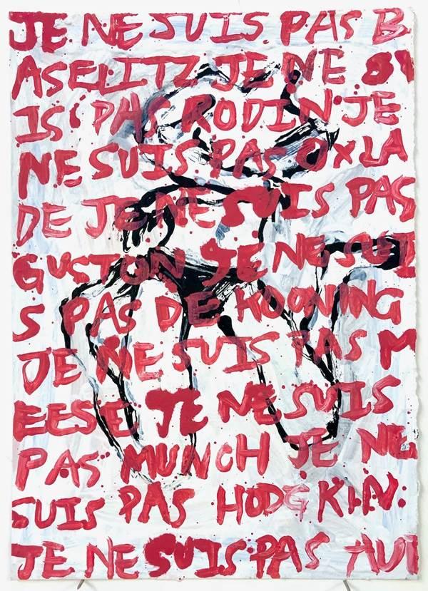 Kim Booker, Je ne suis pas Bazelitz, The Auction Collective